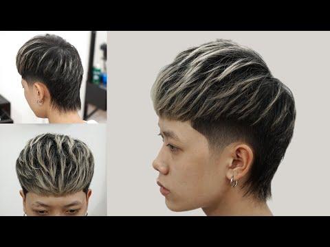 Kiểu tóc Mullet phong cách TikToker Kiên Nguyễn - Chính Barber Shop