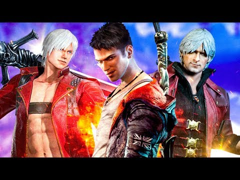 История Devil May Cry (DMC)