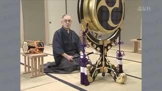 第24回 「太鼓」の撥の置き方、持ち方