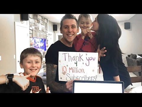 10 MILLION FAMILY MEMBERS!!