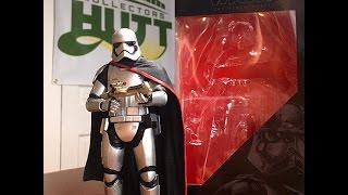 Star Wars The Force Awakens Captain Phasma Black Series 6 Inch Wave 2 Action Figure Review