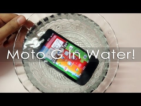 Moto G Goes in Water Will it Survive