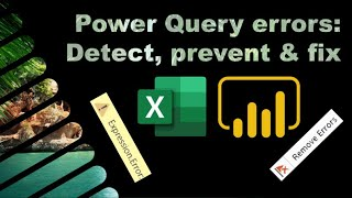 Power query errors: Detect, preטent & fix them