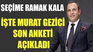 Son seçim sonucunu bilen Murat Gezici ankete göre yeni cumhurbaşkanını açıkladı
