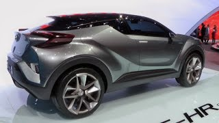 Toyota C-HR Concept 2015 Videos