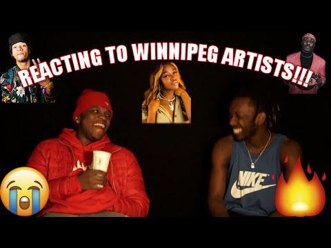 Reacting To Winnipeg Artists