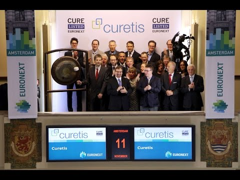 Curetis celebrates dual listing on Euronext Amsterdam and Euronext Brussels