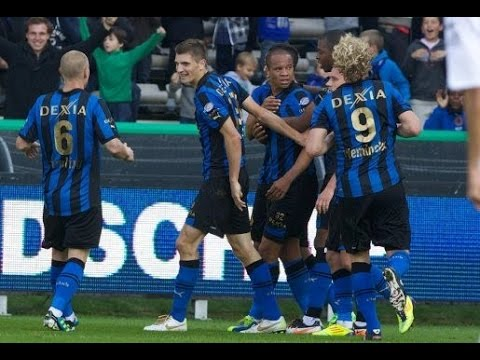 2011-2012 - Club Brugge - AA Gent - GOAL Thomas Meunier