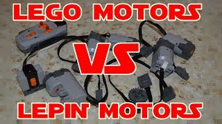 Lego Motors vs Lepin Motors Part 1