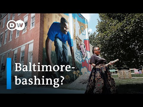 Baltimore residents react to Donald Trump's tweets | DW News