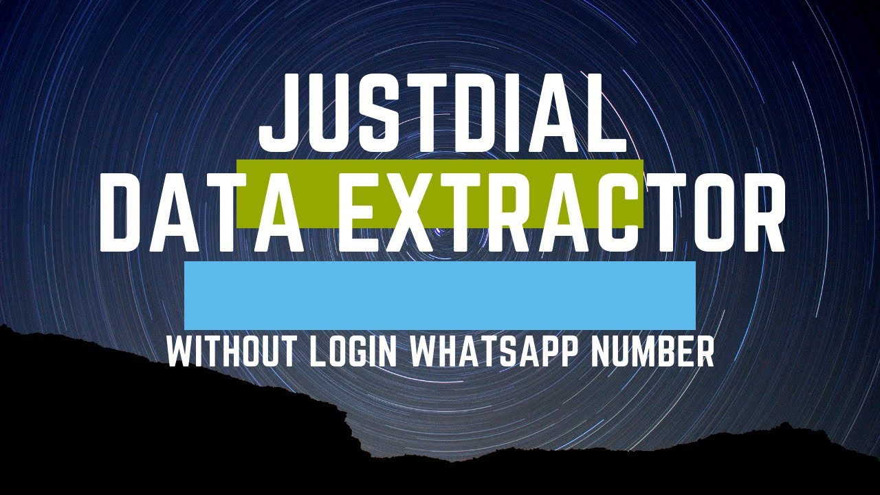 justdial Data scraper, Without Login Extract 100% Whatsapp Number Get Live  Demo Now