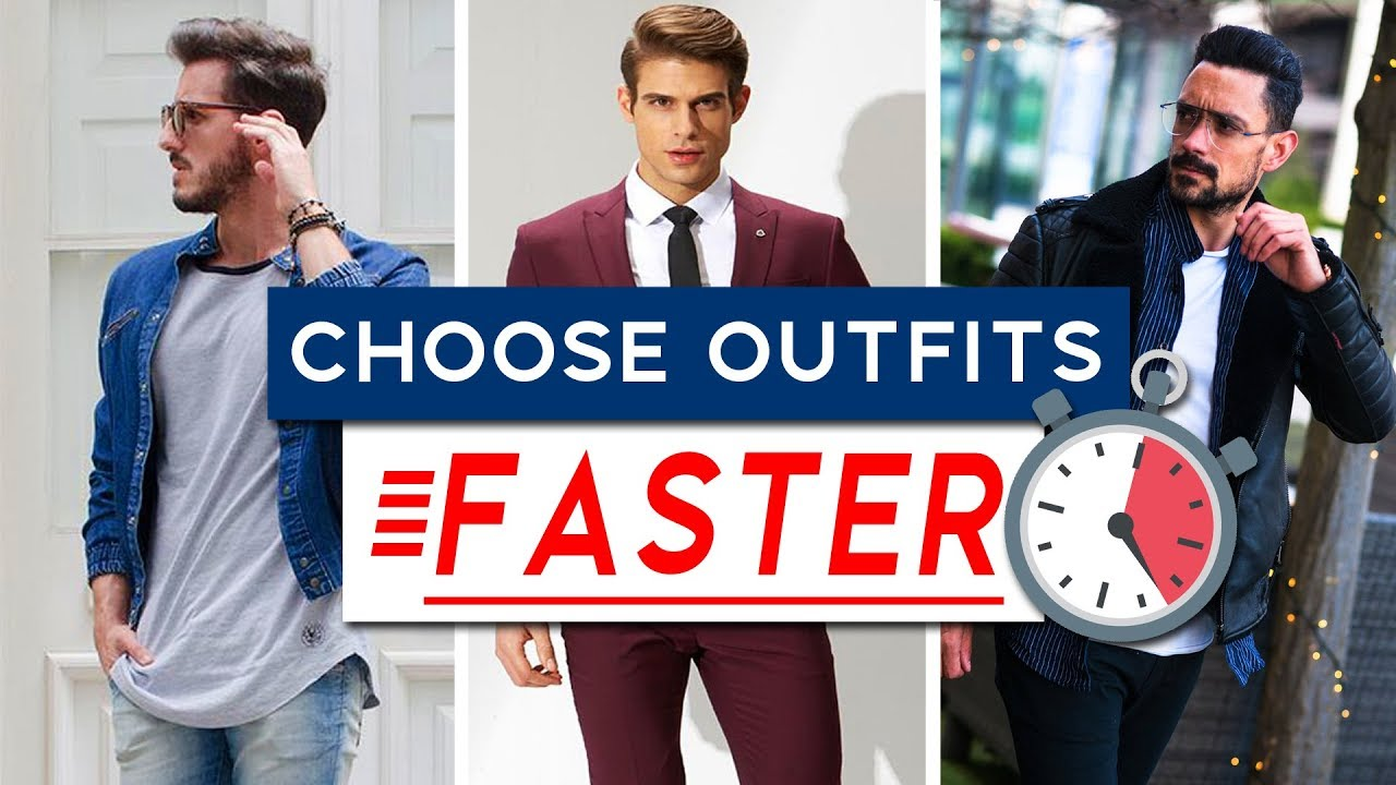 How To Choose A Good Outfit FAST | Men's Style Tips & Tricks