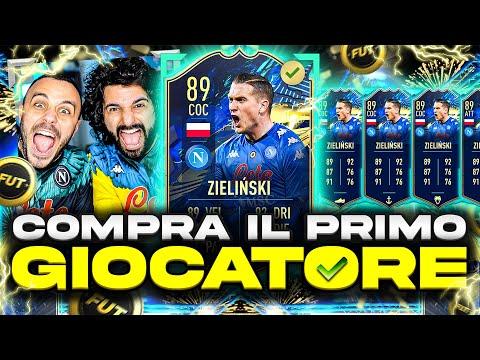 🤩 PIOTR ZIELINSKI TOTS!!!!!! COMPRA IL PRIMO GIOCATORE! FIFA 21 ITA