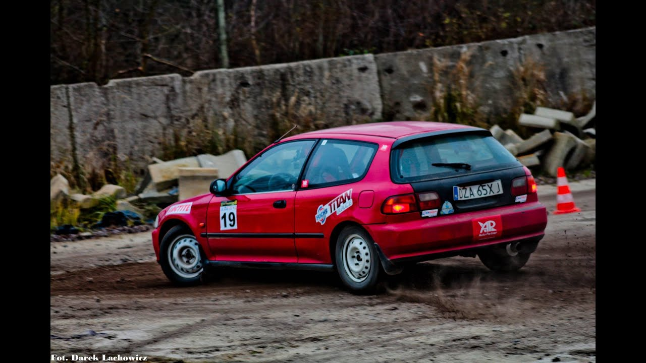 Kabet Rally Team Best Of 2014 Season Honda Civic Rally Car