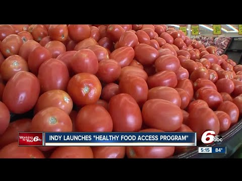 Indy launches 'health food access program'