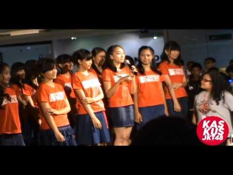 [131012] Fancam : JKT48 2nd generation audition finalist introduction