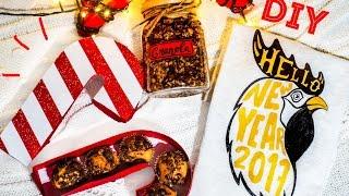 DIY: ИДЕИ ПОДАРКОВ на Новый Год своими руками!(Канал Afinka DIY: https://youtube.com/afinka Подарочки от Алины: https://youtu.be/0wYCrcGwCPM ***** ШАБЛОН коробки