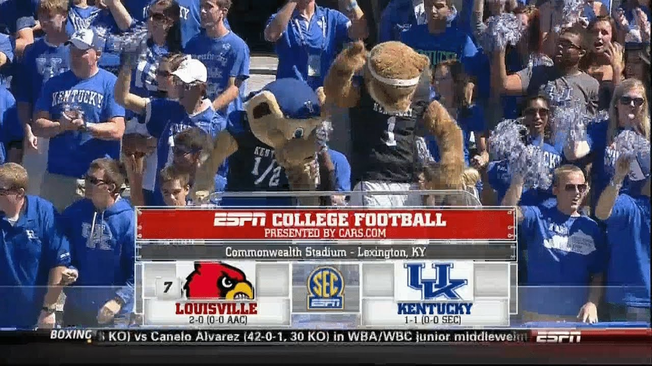 Louisville vs UK 2013 Football Game HD - YouTube