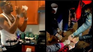 (GOOFY OF DA DAY) Phiily Rapper Try To Bust New Trend 10 Lean Bottle In His Belt..DA PRODUCT DVD