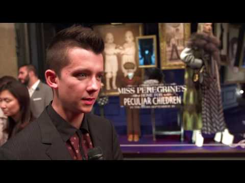 Miss Peregrine's Home for Peculiar Children Premiere  Asa Butterfield  interview