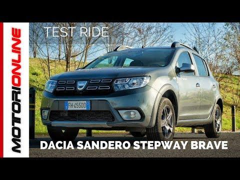 Dacia Sandero Stepway Brave | Test drive