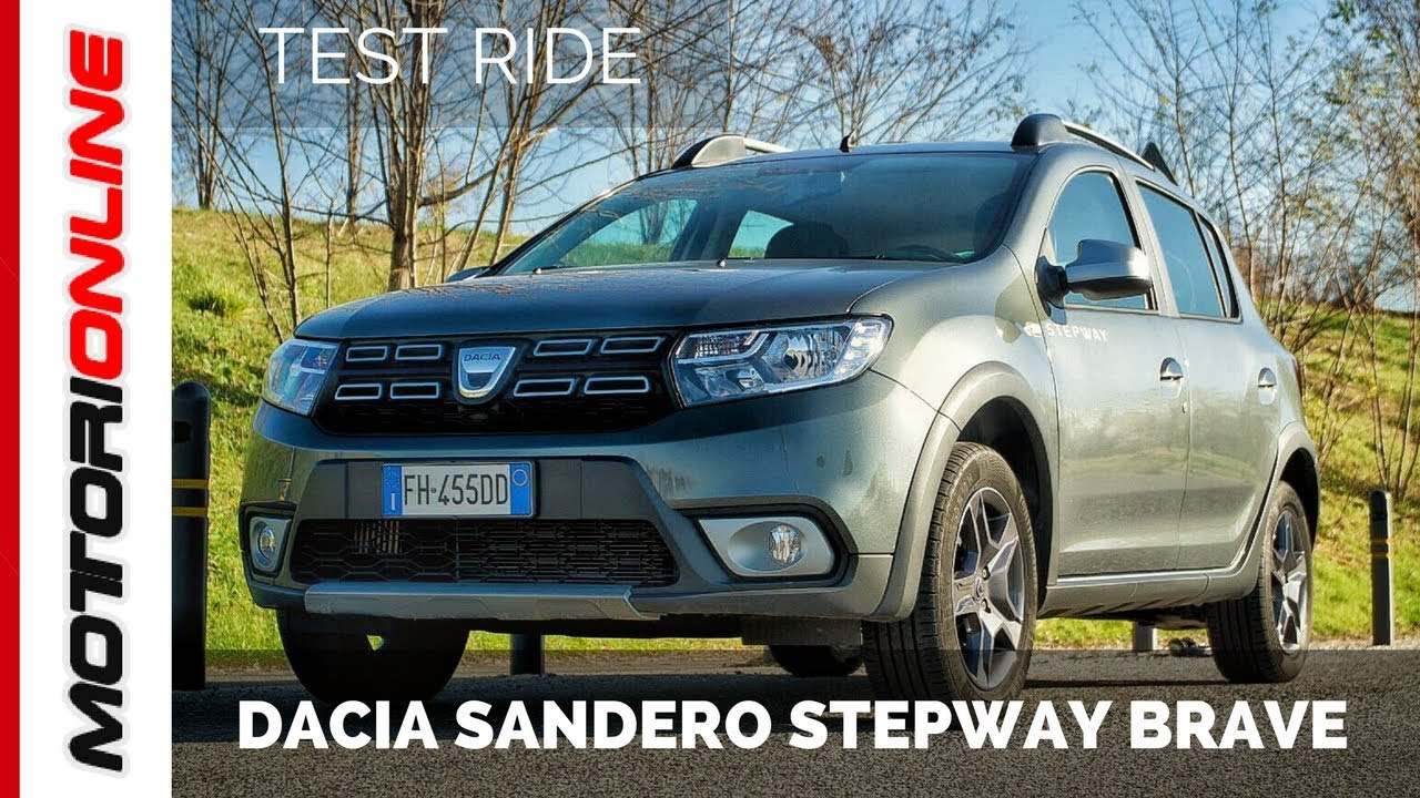 dacia sandero stepway brave test drive youtube. Black Bedroom Furniture Sets. Home Design Ideas