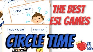 Esl Game For Circle Time   Circle Time Activities   Easy Esl Games