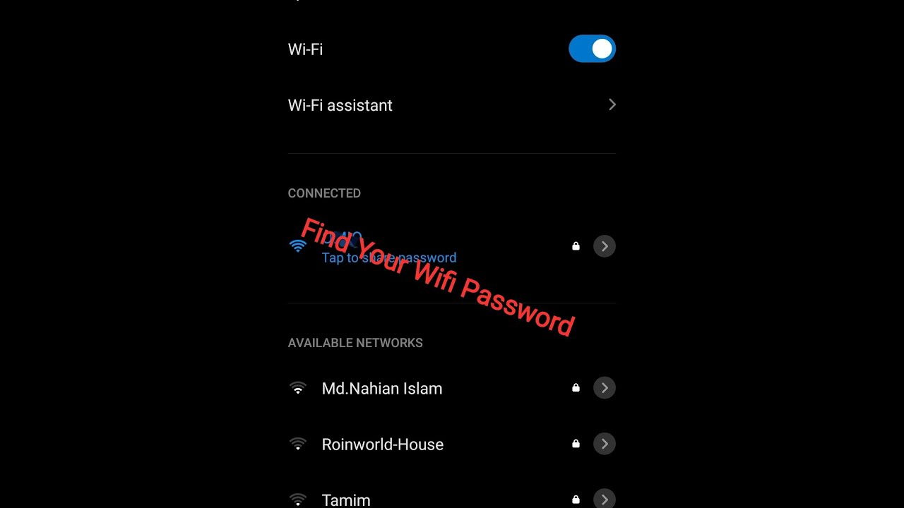 Download How To See Connected WiFi Password On Android Phones Without Root (Easy New Method)