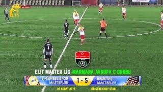 Bağcılar Güneşlispor Masterler - Beşiktaş Masterler Maçı