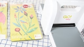 How to Use the AccuQuilt GO! Baby Fabric Cutter featuring Laundry Basket Quilts Dies