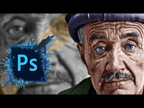 How To Colorize Black And White In Oshop Cc