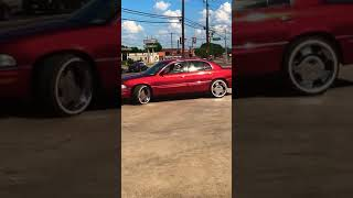 CANDY RED BUICK PARK AVE DALLAS TX STYLE