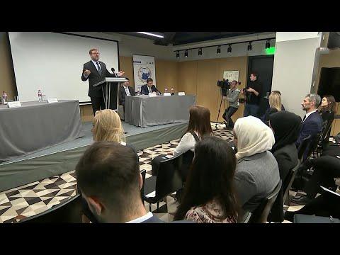 В Москве проходит международный форум молодых дипломатов.