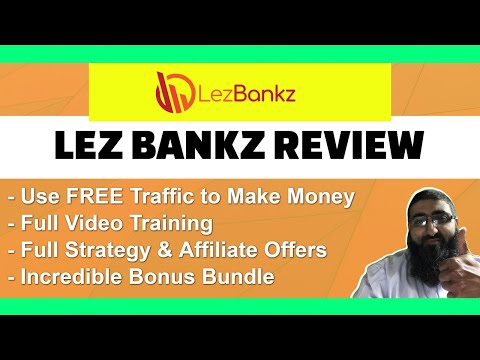 Lez Bankz Review Use YouTube for Free Traffic and Affiliate Commissions thumbnail