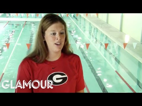 The Athlete: Allison Schmitt - College Life - Glamour Top Ten College Women