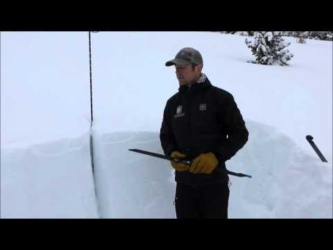 Wet snow avalanche danger - Northern Gallatin Range 18 March 16