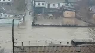 Подтопление в Аягозском районе ВКО, март 2018