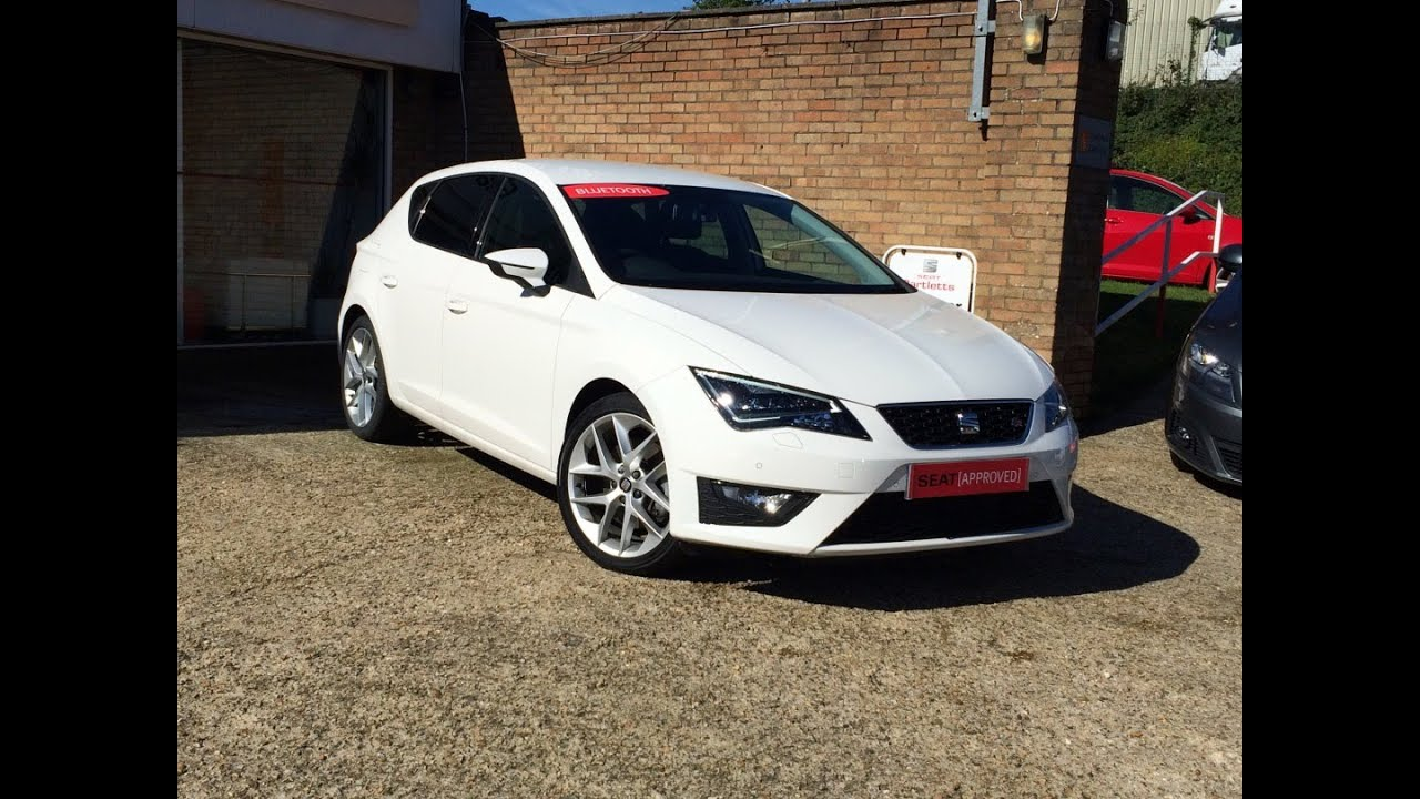 seat leon 2 0 tdi fr 184 ps 5dr sold by bartletts seat in hastings youtube. Black Bedroom Furniture Sets. Home Design Ideas