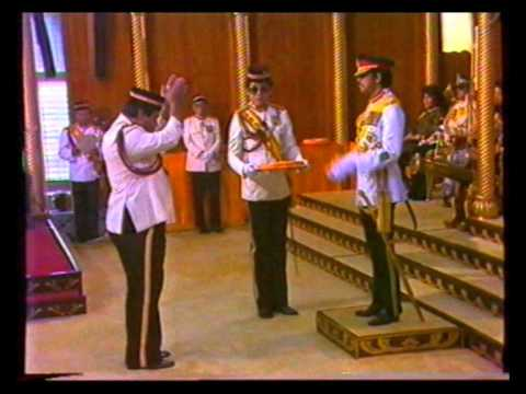 Sultan of Brunei History and Coronation part 2