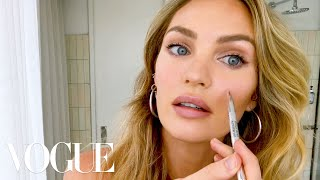 Candice Swanepoel's 10-Minute Guide to 'Fake Natural' Makeup and Faux Freckles | Beauty Secrets