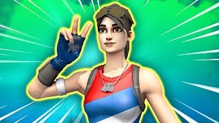 THEY PUT MY NAME ON THE NEW SKIN! -Fortnite, the