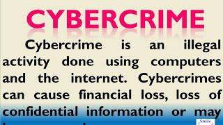 Essay on Cybercrime in English for Higher Secondary Students