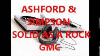 ASHFORD & SIMPSON - SOLID AS A ROCK