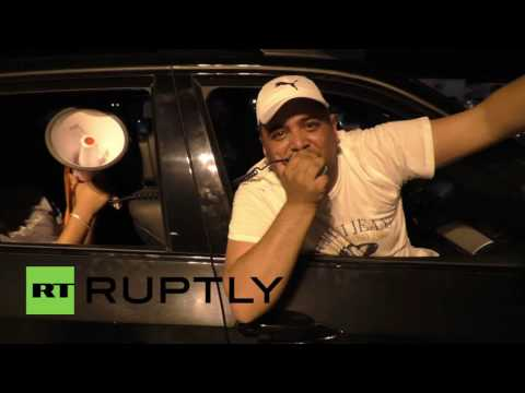 France: Portuguese fans party into the night after Euro 2016 victory