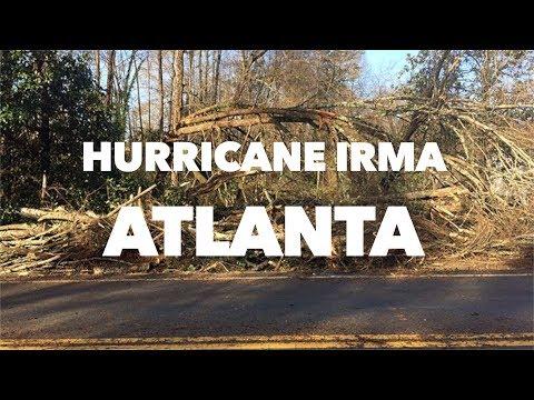 Hurricane Irma hits Atlanta