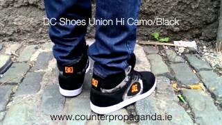Counter Propaganda - DC Shoes Union Hi Camo Black