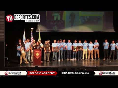 Solorio Academy High School IHSA State Champions