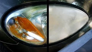 How to Restore your Headlights (crystal clear) thumbnail