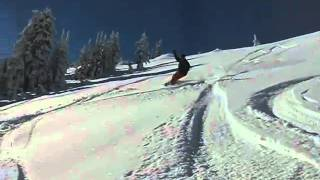 Coming down Wenatchee Bowl at Stevens Pass Thumbnail