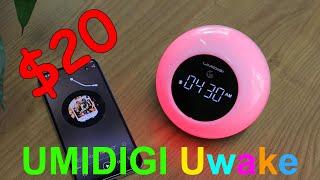 UMIDIGI Uwake - Bluetooth-колонка с будильником и цветомузыкой по цене $20 - Интересные гаджеты